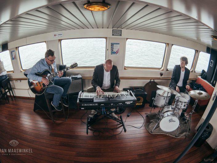 PinksterJazz on a boat in Amsterdam